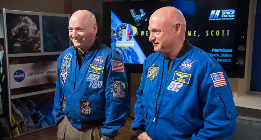 NASA's Twins Study reveals effects of space on Scott Kelly's