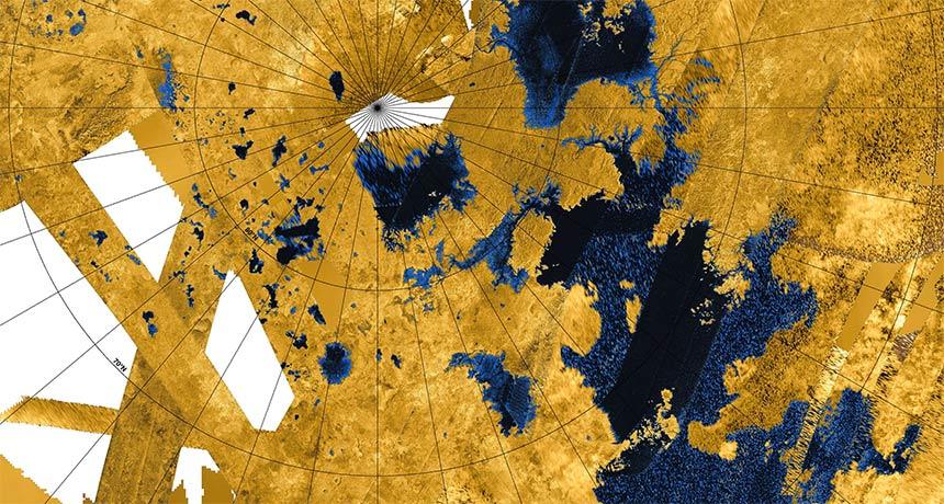 mosaic image of Titan
