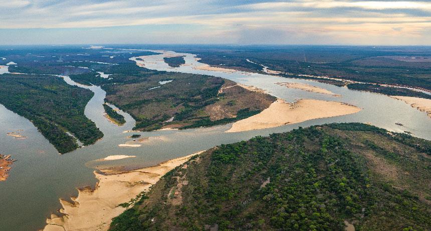 Coco River in Brazil
