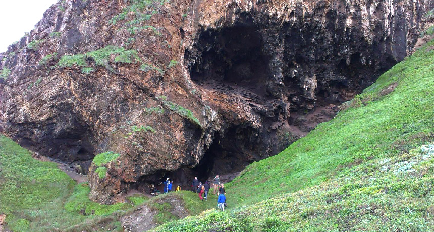 South Africa cave