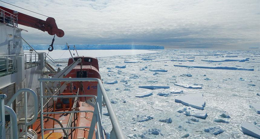 southern ocean in Antarctica