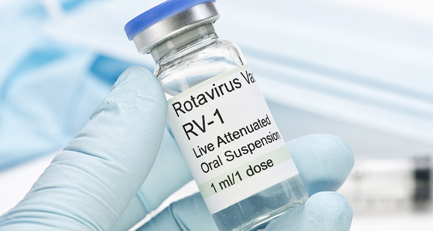 Rotavirus vaccines may lower kids' chances of getting type 1