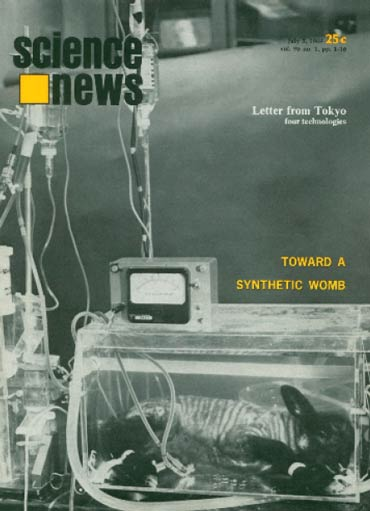 Science News cover from July 5, 1969