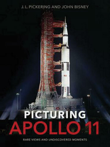 "cover of ""Picturing Apollo 11"""