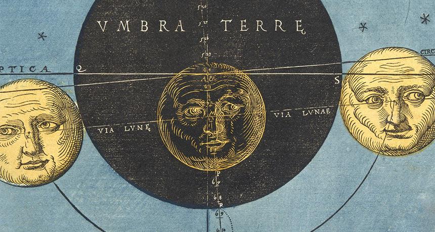 Astronomicum Caesareum moon image