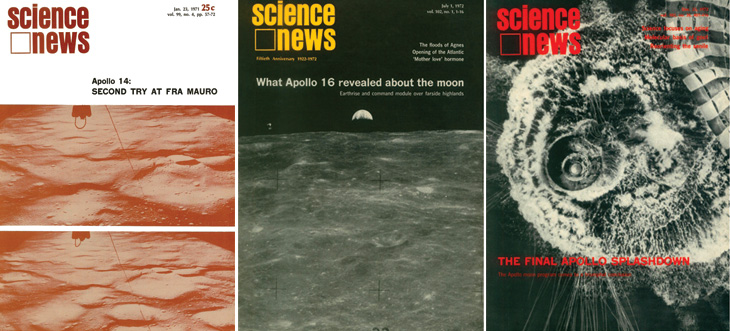 SN Apollo mission covers