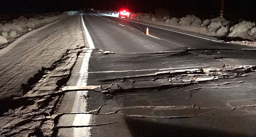 What the California earthquakes can tell us about future