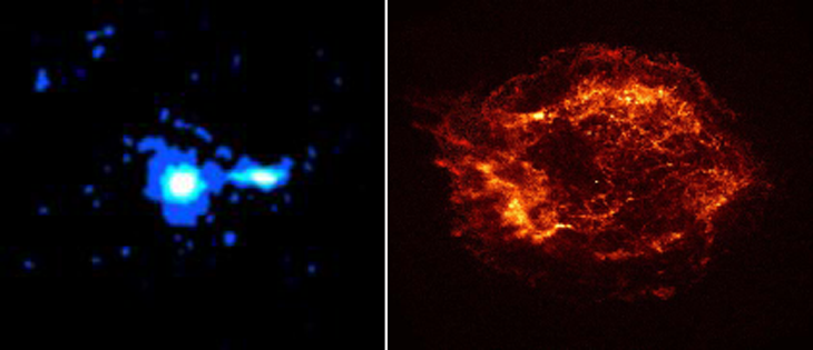 Chandra first images