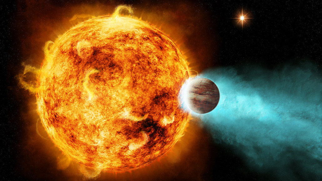 hot Jupiter exoplanet