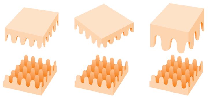 egg carton friction