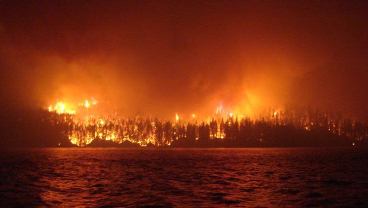 British Columbia fire