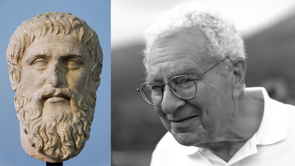 Plato and Murray Gell Mann