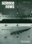Science News cover from August 16, 1969