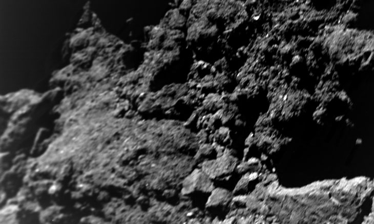 For an asteroid, Ryugu has surprisingly little dust on its surface