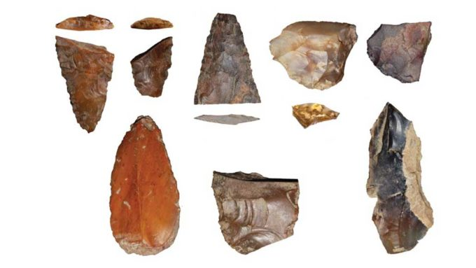 stone points