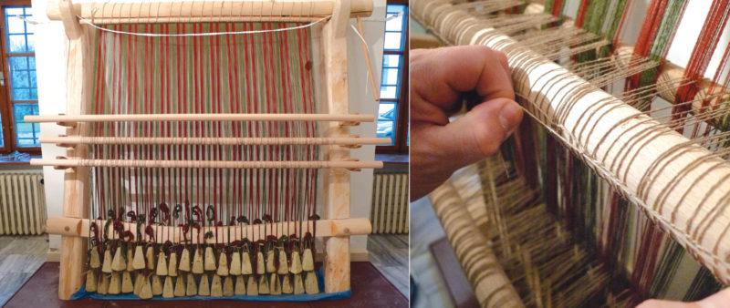 Austrian weaving loom