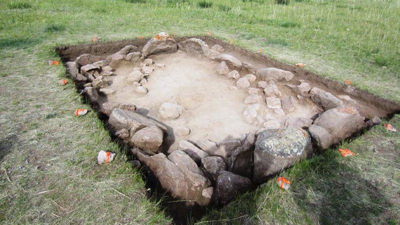 Kazakhstan tomb