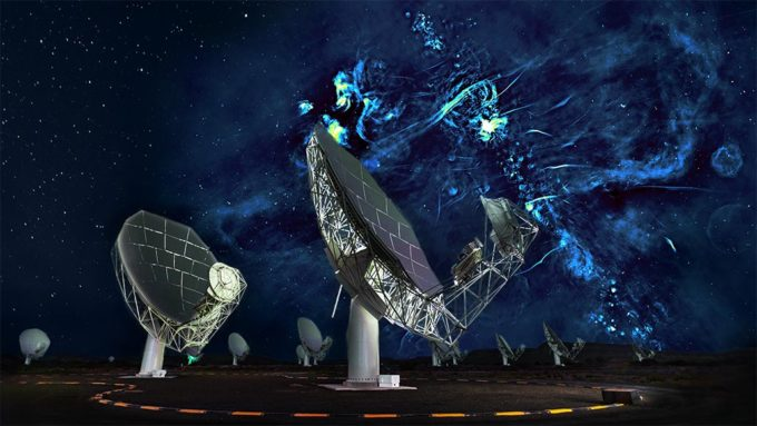 MeerKAT telescope array