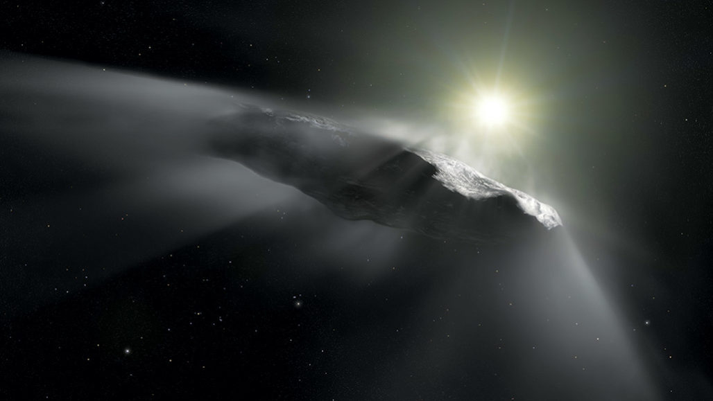 'Oumuamua interstellar object
