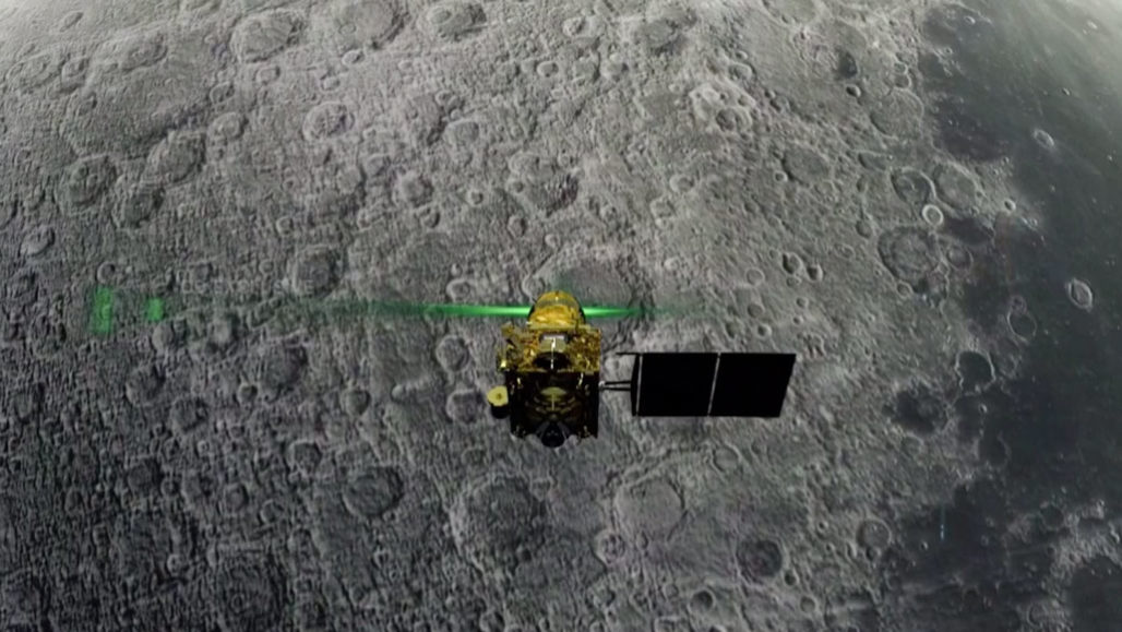 Chandrayaan 2 spacecraft