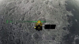 Chandrayaan 2 spacecraft