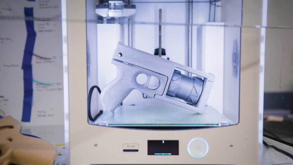image regarding Printable Firearm Log titled 3-D posted guns pose contemporary difficulties for criminal offense-scene