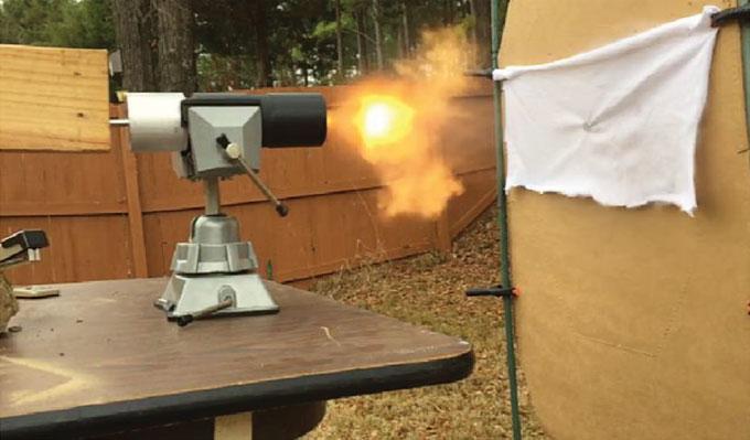 3-D printed gun testing