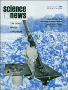 cover of September 27, 1969, issue of Science News