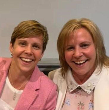 Julie Hodgson and Diane Portlock