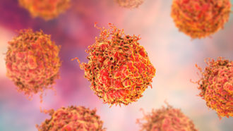 cancer cells illustration