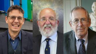 Didier Queloz, Michel Mayor, James Peebles