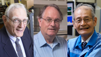 John B. Goodenough, M. Stanley Whittingham and Akira Yoshino
