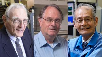 John B. Goodenough, M. Stanley Whittingham and Akira Yoshino