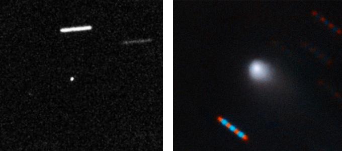 'Oumuamua and 2I/Borisov