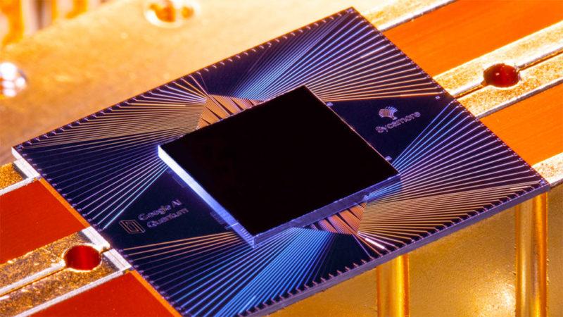 Google quantum chip