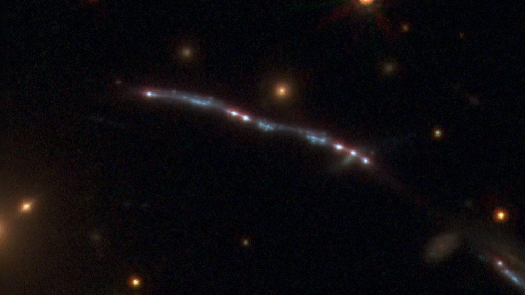 Sunburst Arc galaxy