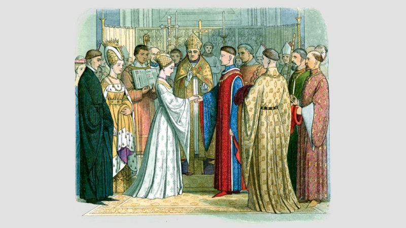 Henry V wedding