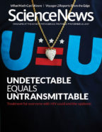 Cover of the Nov. 23, 2019 issue of Science News