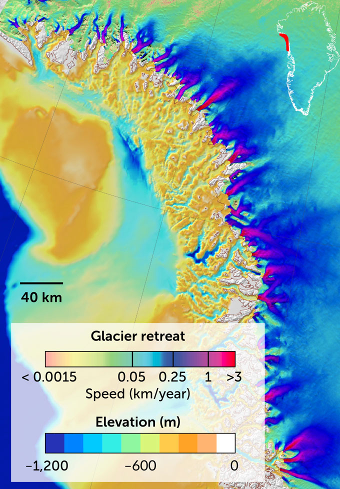 seafloor depth map