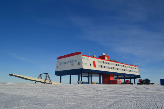 German Neumayer III research station