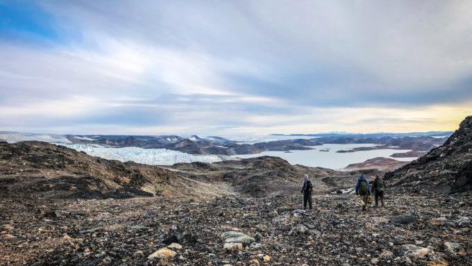 Greenland rocks