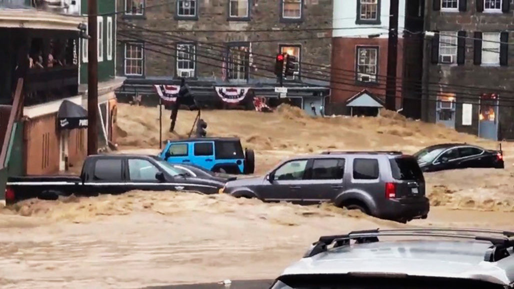 flash flooding in Ellicott City, Md.