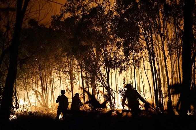 Deepwater National Park fire