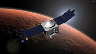 Mars Maven spacecraft