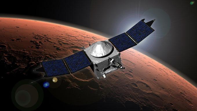 Mars Maven spacecraft