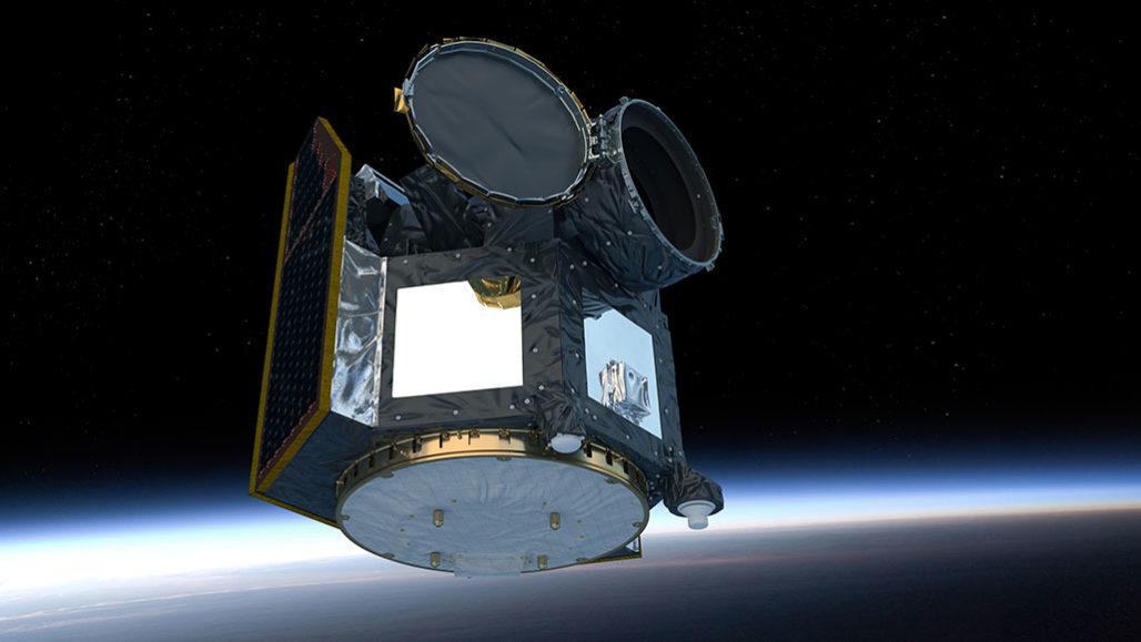 CHEOPS satellite illustration