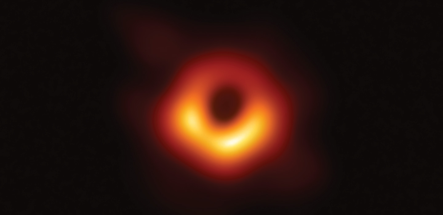 black hole M87 first image