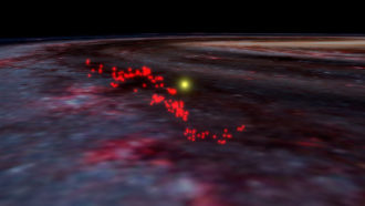 A giant wave of gas lurks near our solar system