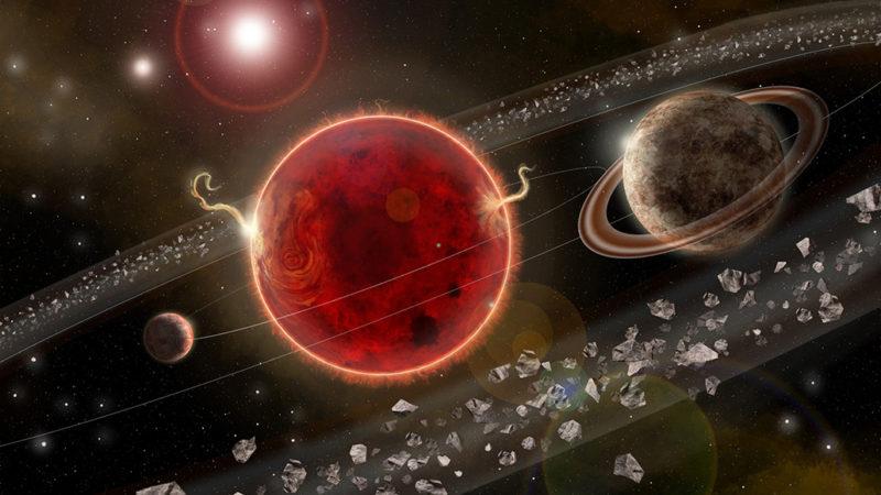 Proxima Centauri illustration