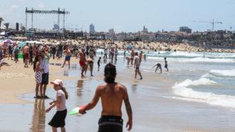 Tel Aviv heat wave